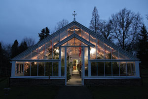 Blithewold greenhouse