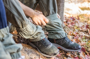 Velcro gaiters by No Fly Zone brand of DogNotGone.com